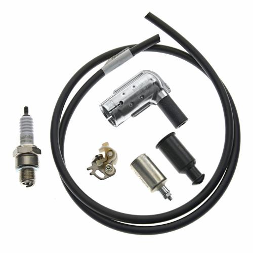 Set Unterbrecher Kondensator Z/ündkerze Moped//Mokick