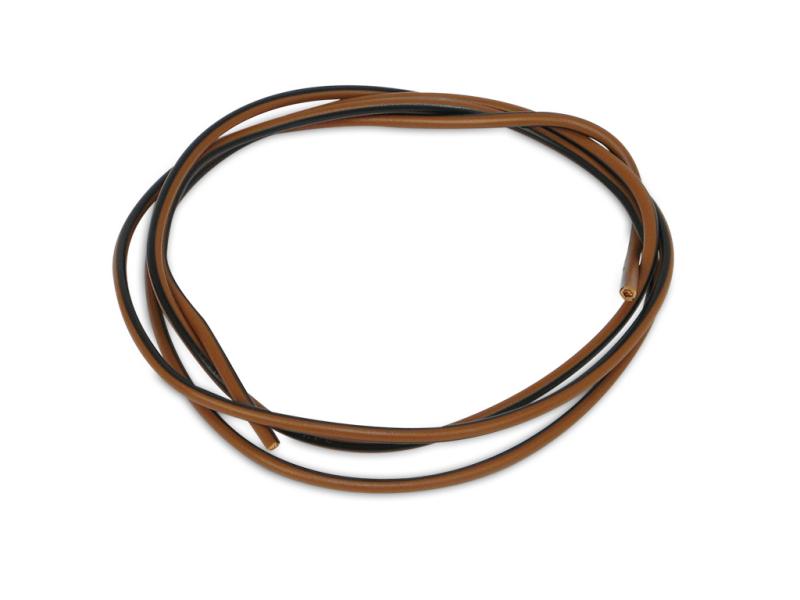 kabel schwarz braun 1 5 mm je meter verkauf als 5. Black Bedroom Furniture Sets. Home Design Ideas