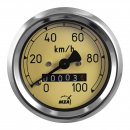 Tachometer AS 60mm - RT125/1 - (100 Km/h) - k-Wert= 1,0 -...
